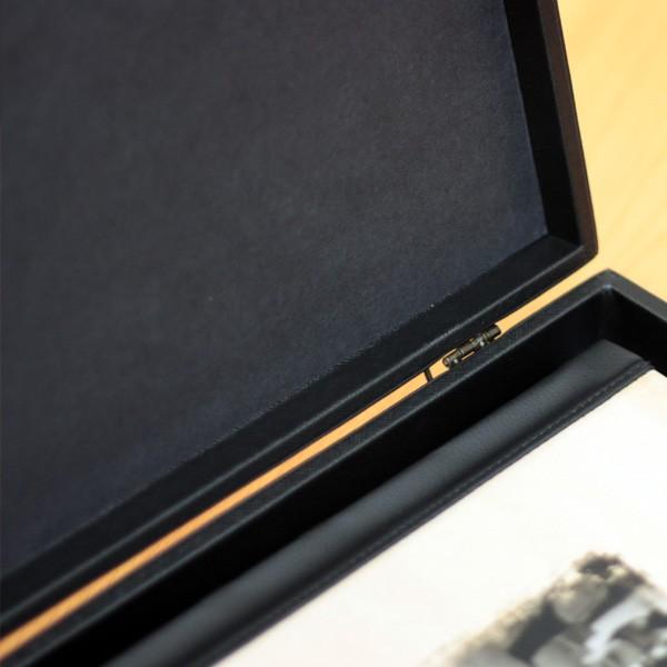 Classic Leather Photo Album Box