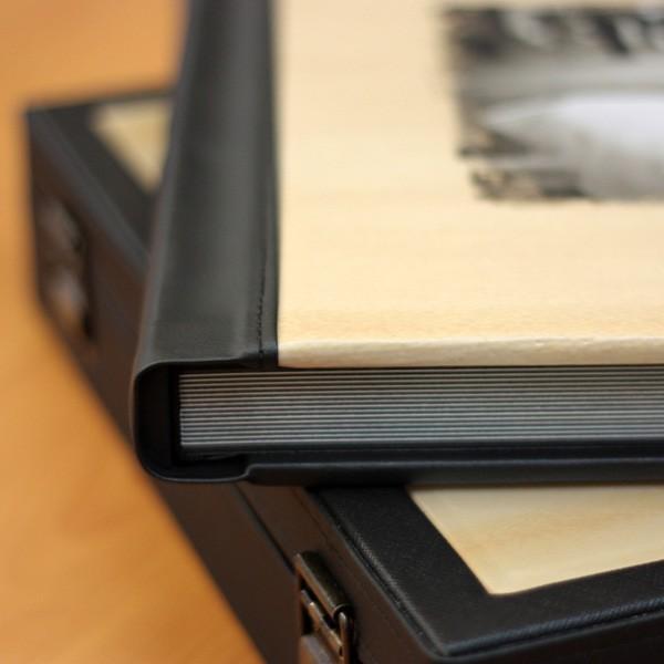 Image-Leather Photo Album Box